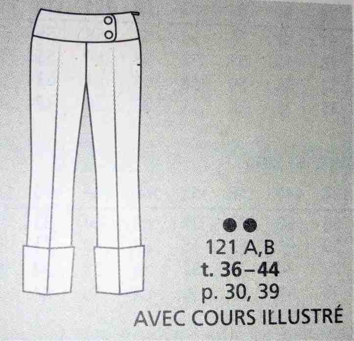 Les modèles Burda Style n° 213 (17)